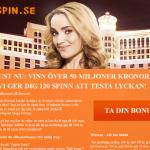 120 free spins hos Betsson casino