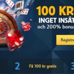 Betfair – 100kr gratis utan insättning
