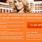 20 free spins utan insättning hos Betsson casino