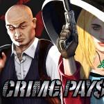 40 free spins på Crime Pays