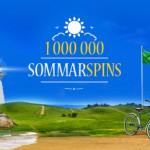 MrGreen delar ut en miljon gratissnurr i sommar!