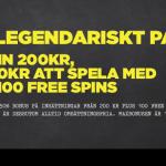 SuperLenny bjuder på ett exklusivt paket med freespin och bonus!