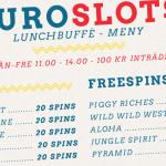 20 free spins i 10 olika spel varje dag hos EuroSlots