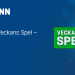 20 free spins i Starburst hos Nordicbet hela veckan